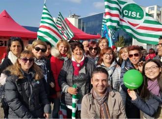 Tutti in piazza per lo sciopero