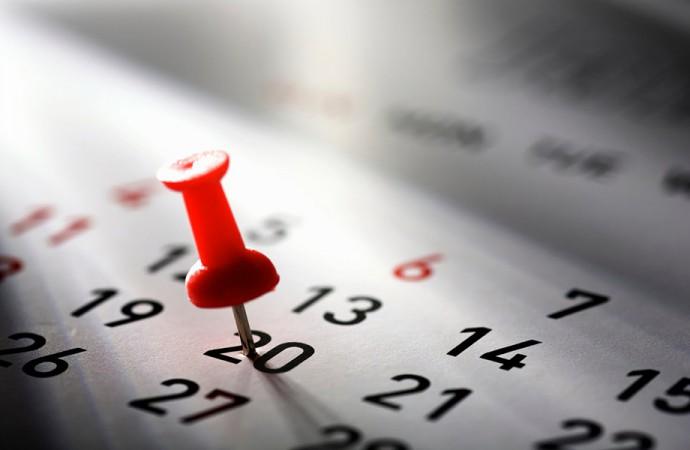 Il calendario degli eventi