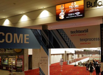 Techtextil North America, il press tour
