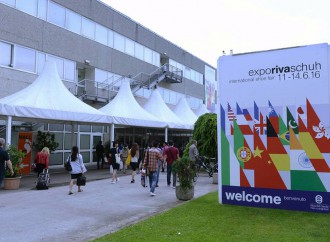 Expo Riva Schuh, vista sul 2017