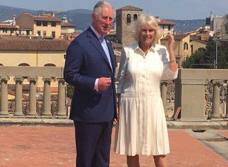 Carlo d'Inghilterra scopre la lana italiana