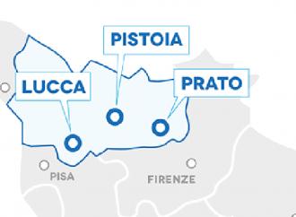 La congiuntura a Lucca, Pistoia e Prato
