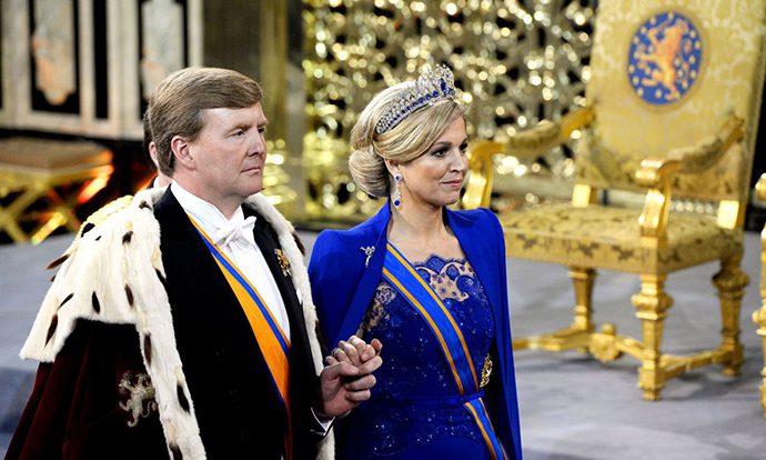 Anche i reali d'Olanda all'evento sul denim