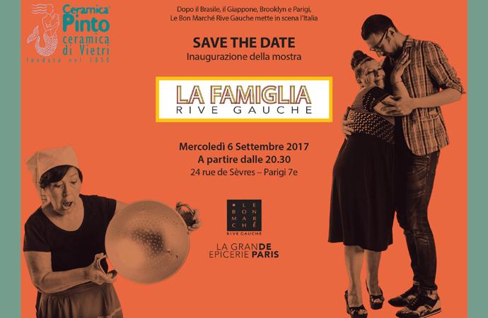 """Le Bon Marché dedica all'Italia la mostra """"La Famiglia"""""""