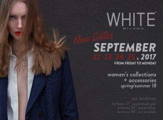 Domani al via White Milano