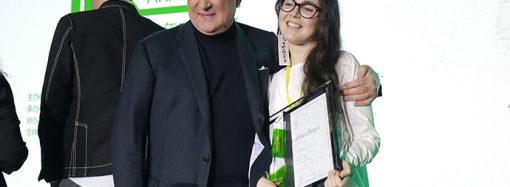Per Greta Moroni un premio 'verde' in Cina