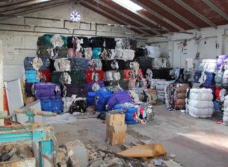 Scarti tessili di lavorazione: ancora uno stallo