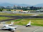 L'Unione su viadotto e aeroporto