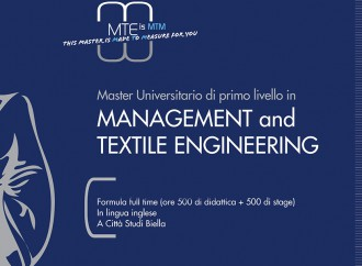 Torna il Master in Management and Textile Engineering