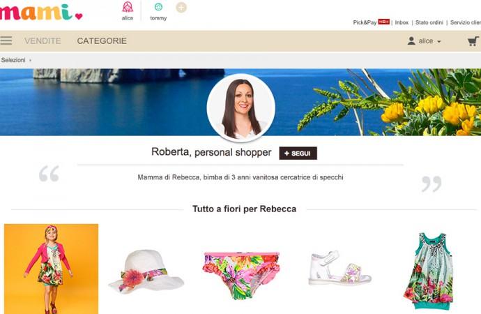 Mami, l'e-commerce per i più piccoli