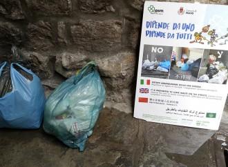 Prato, una task force <br> contro l'abbandono dei rifiuti tessili