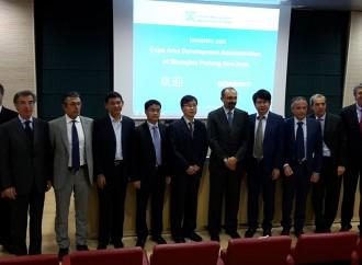 Varese, l'export in Cina passa da Shanghai