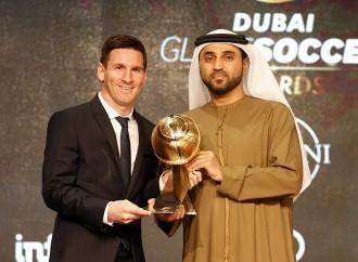 Messi, un premio ritirato con eleganza
