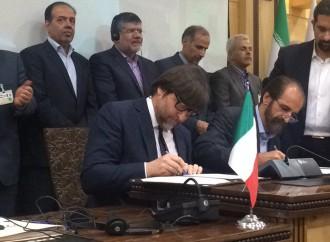 Firmato l'accordo Italia-Iran per il tessile moda