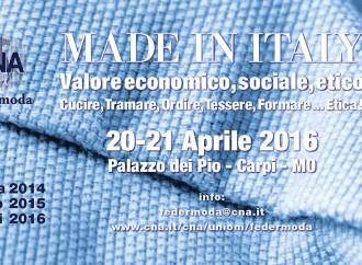 L'etica del Made in Italy secondo Cna Federmoda