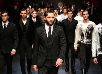 La moda da uomo cresce grazie all'export