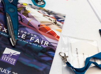 The London Textile Fair, new year and new numbers