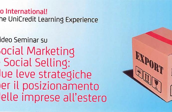 Marketing e selling, video seminario a Biella