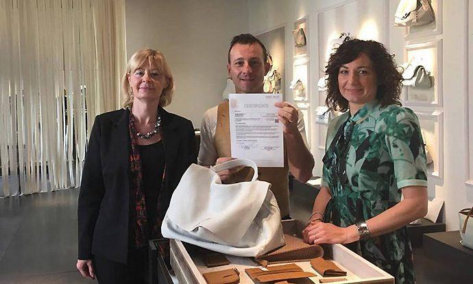 Centrocot, a Zanellato il primo certificato per la pelle