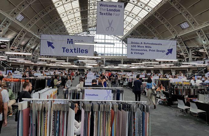 Londra, due giorni da capitale del tessile