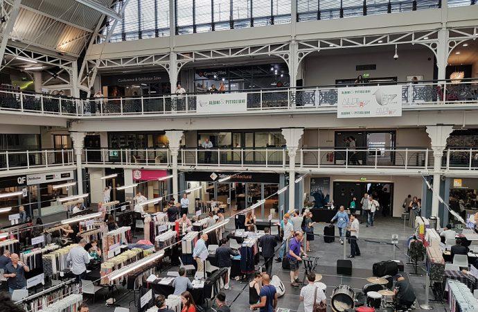 Londra si prepara per la Textile Fair