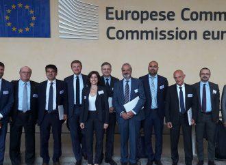 Gli imprenditori di Como nella casa dell'euro
