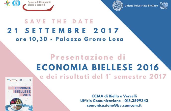 Presentato il volume 'Economia biellese 2016'