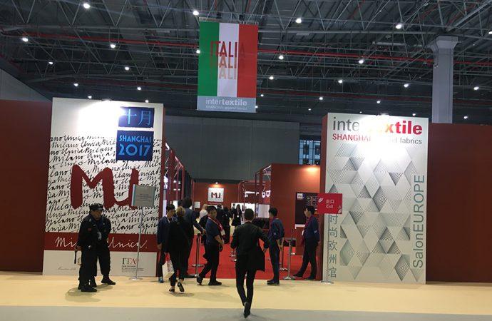 Milano Unica Shanghai, il tricolore sventola in Cina