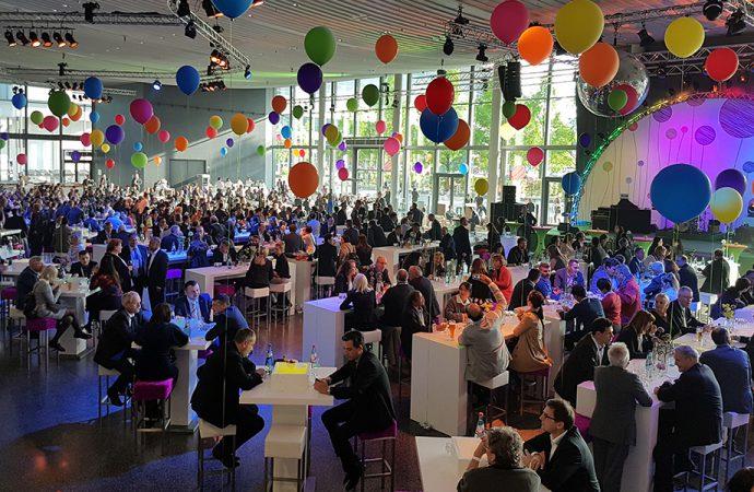 Messe Frankfurt party