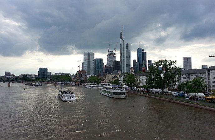 Skyline di Francoforte