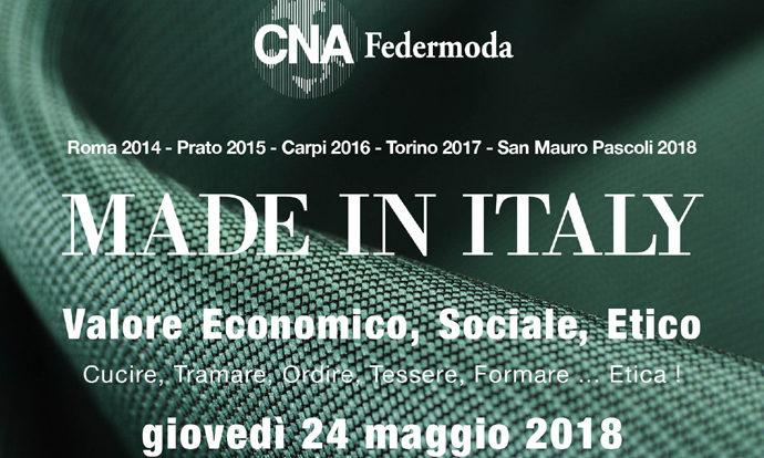 CNA Federmoda monitora la filiera e la sostenibilità