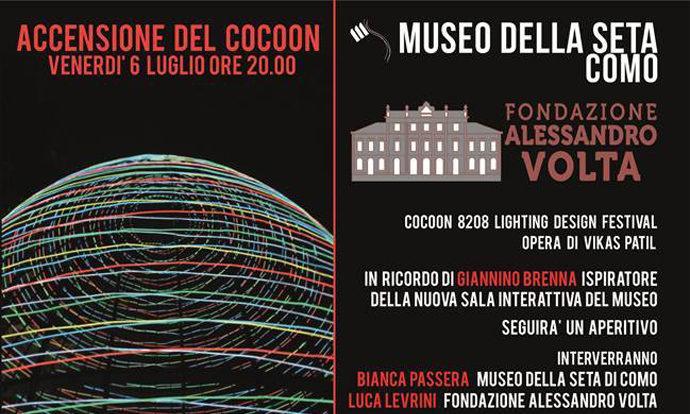 Cocoon questa sera a Como