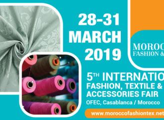 Morocco Fashion & Tex: save the date