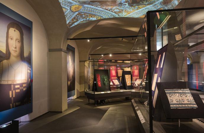 La collezione Autunno-Inverno del Museo del Tessuto di Prato