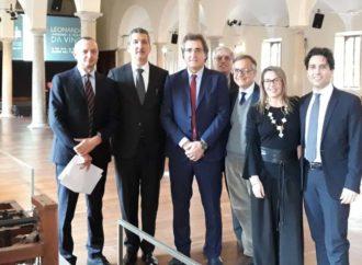Leonardo da Vinci L'ingegno – il tessuto: appuntamento a Prato