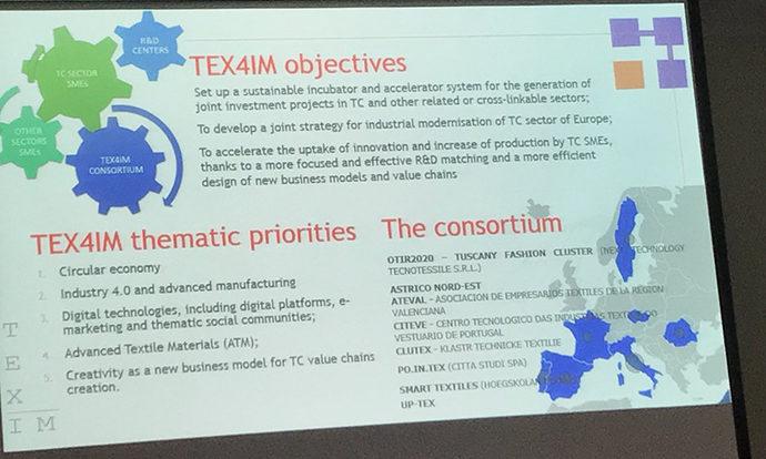 Tex4IM, la rete delle filiere tessili europee si estende