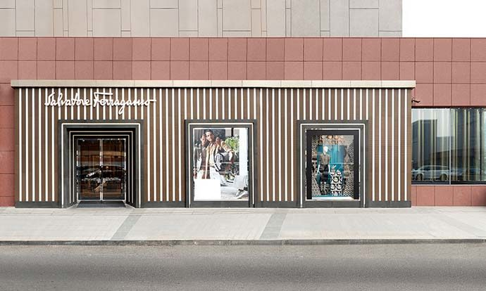 Ferragamo, a Pechino lo store è sostenibile
