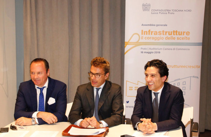 Grossi bis per Confindustria Toscana Nord