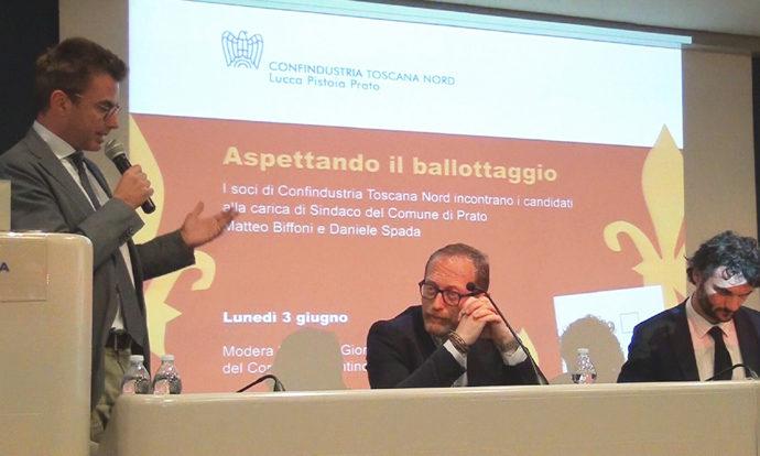 I sindaci in ballottaggio incontrano Confindustria Toscana Nord