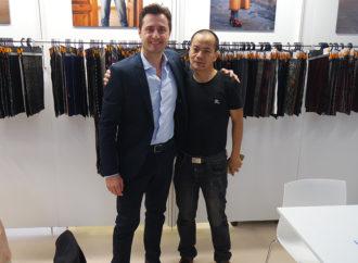 """Bertini-EBTex, la solidarietà """"tessile"""" unisce Cina e Italia"""