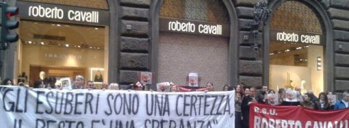 Roberto Cavalli, dipendenti in assemblea
