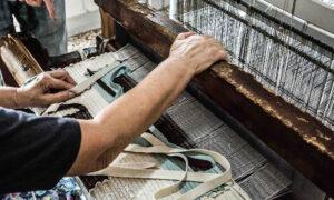 In mostra a Ginevra la manualità del tessile