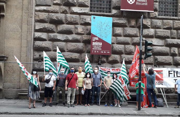 """""""Non siamo di serie B"""" <br> Il tessile si ferma a Firenze"""