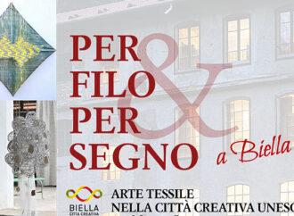"""Biella, un mese di cultura con """"Per filo & per Segno"""""""