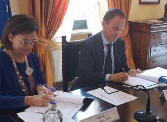 Legalità in Alto Piemonte, firmato l'accordo Prefettura-Camera di Commercio